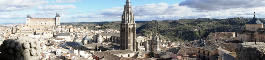 Toledos schönes Panorama
