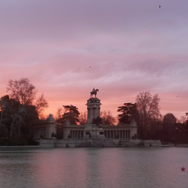 Good Morning, #Madrid  #parquederetiro #retiro #retiropark #nofilter
