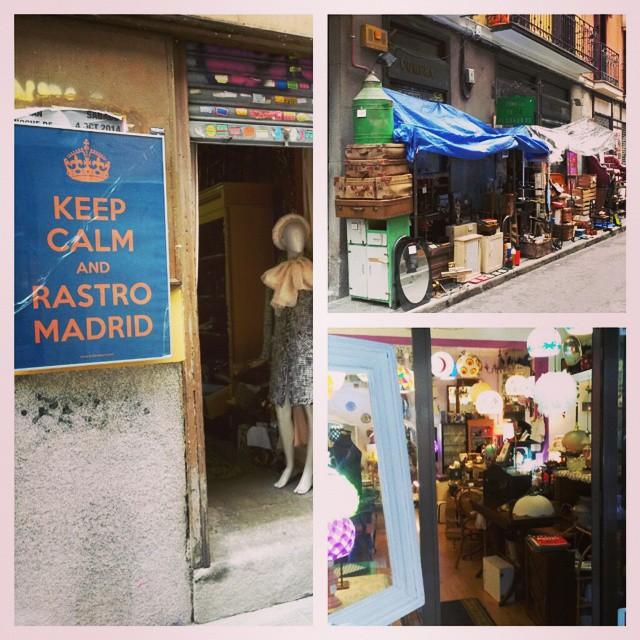 Instagram-Foto: Sonntäglicher Flohmarkt im Barrio #rastro #flohmarkt #madrid