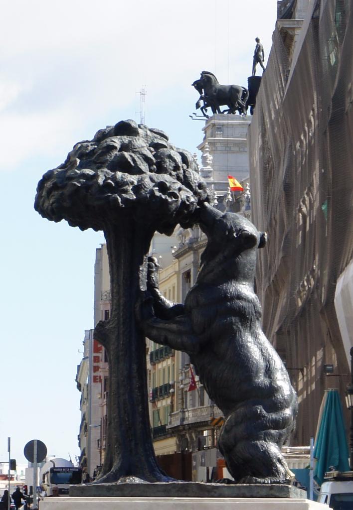 Madrid el Oso y el Madroño
